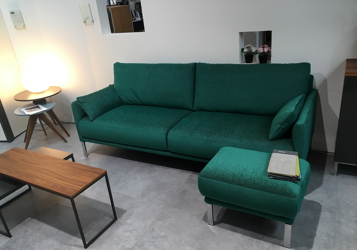 Rolf Benz Cara Sofa And Foot Stool Hulsta Webstore