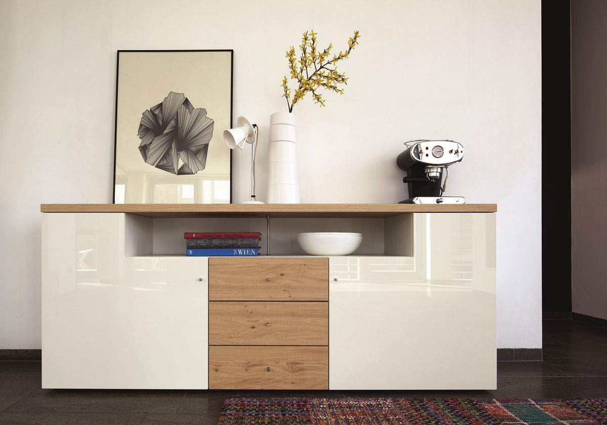 now time sideboard hulsta webstore. Black Bedroom Furniture Sets. Home Design Ideas